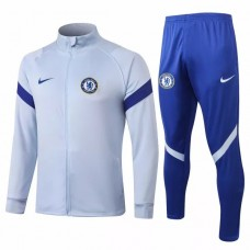 Chelsea Presentation Football Tracksuit 2020 Sky Blue