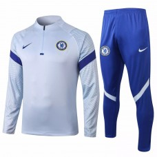 Chelsea Training Technical Football Tracksuit 2020 Sky Blue