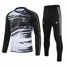 Juventus Technical Training Football Tracksuit Neck Black 2020 2021