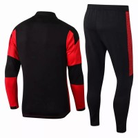 AC Milan Technical Training Soccer Tracksuit Red 2020 2021